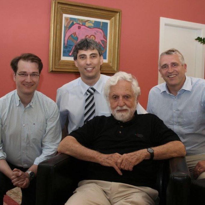 Carl Djerassi, Leonhard Loimer, Martin Swoboda, Matias Brunbauer | 2011